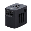 Anker | Universal Travel Adapter with 4 USB Ports Black