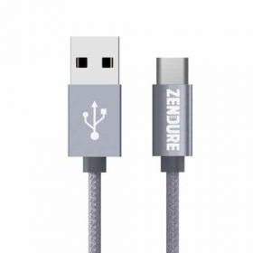Zendure Type-C to Type-A Cable - 100cm Gray